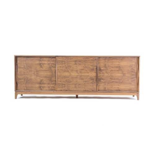 Walnut Credenza   Furniture by Steve Wallin Furniture