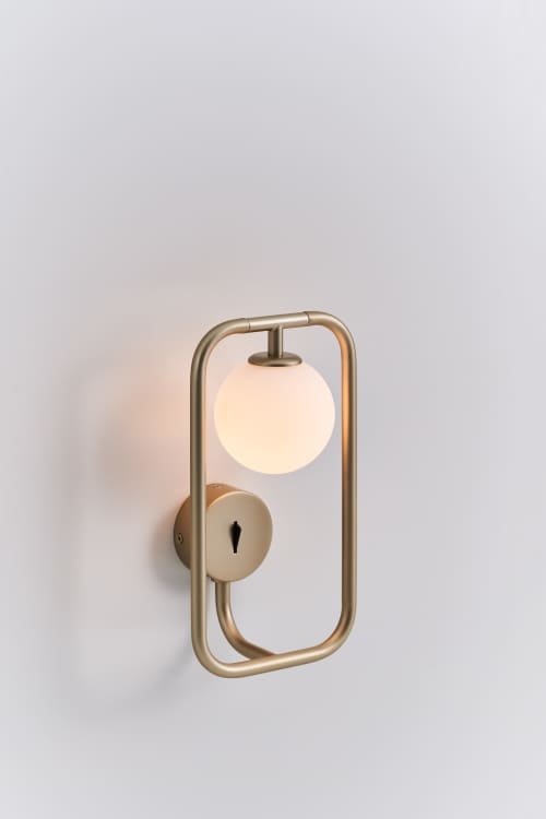 Sconces by SEED Design USA seen at Creator's Studio, Renton - SIRCLE Wall Sconce
