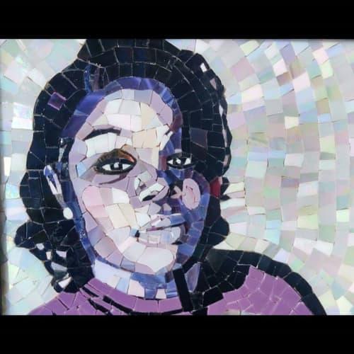 Wall Hangings by JK Mosaic, LLC - Breonna Taylor Portrait