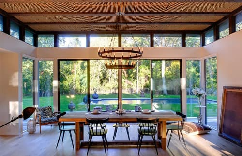 Chandeliers by Form & Reform seen at Private Residence, Amagansett - Chandelier