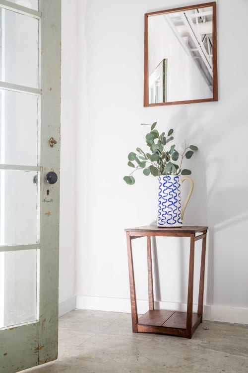 Tapered Frame Side Table | Tables by Eben Blaney Furniture