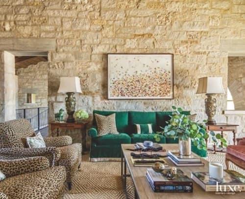 Interior Design by Jan Heaton seen at Private Residence, San Antonio - Hunt Gallery  | San Antonio Texas | Commission