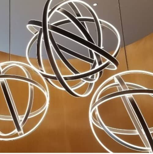 Custom Chandeliers   Chandeliers by Bluebird Lighting   The Charter Hotel Seattle, Curio Collection by Hilton in Seattle