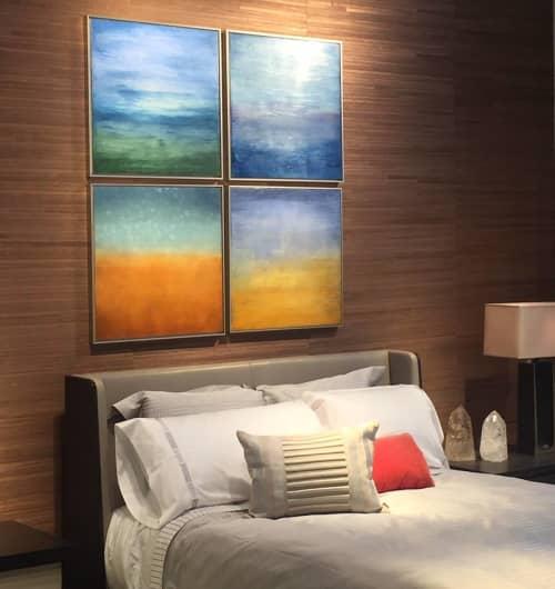24x24 encaustics | Paintings by Linda Cordner