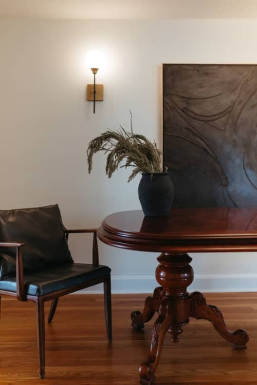 Paintings by Monica Curiel seen at Private Residence, Kansas City - Esmeralda Painting