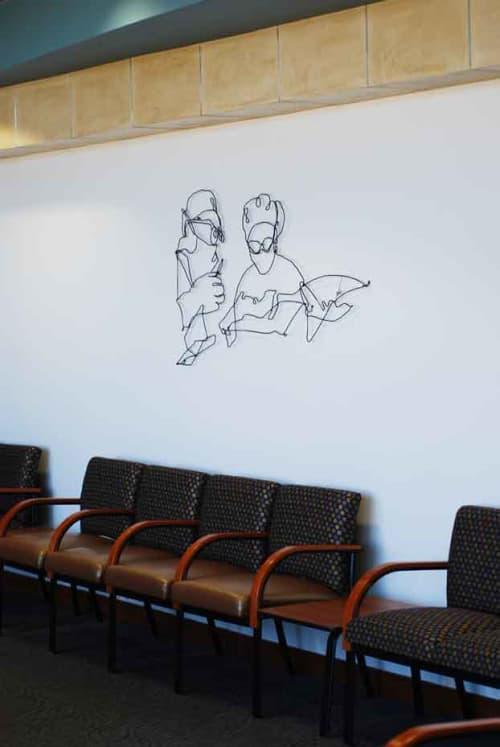 Sculptures by Wire Wall Art by Bart Soutendijk - Surgery