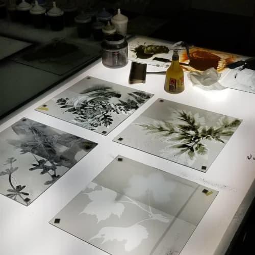 Glass Art | Paintings by Cara Enteles Studio