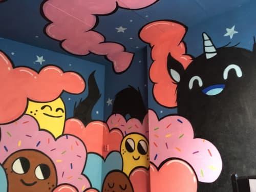Street Murals by Doodkonijn seen at Rotterdam, Rotterdam - Your Room, my universe.