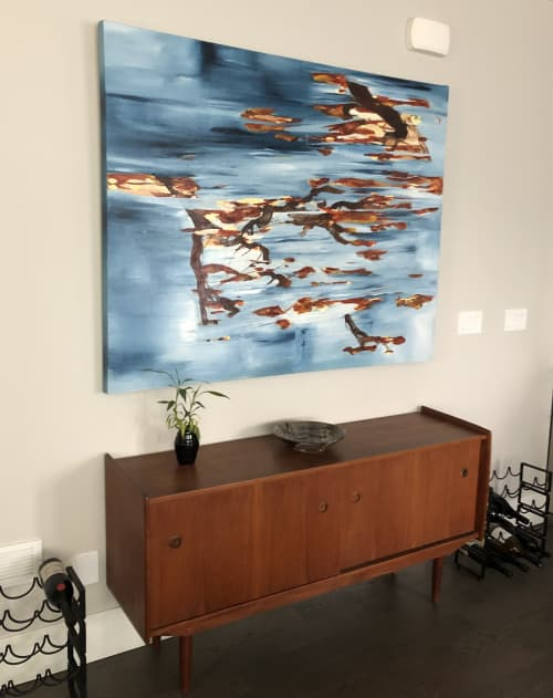 Giant Steppes | Paintings by Niina Chebry | Vancouver in Vancouver