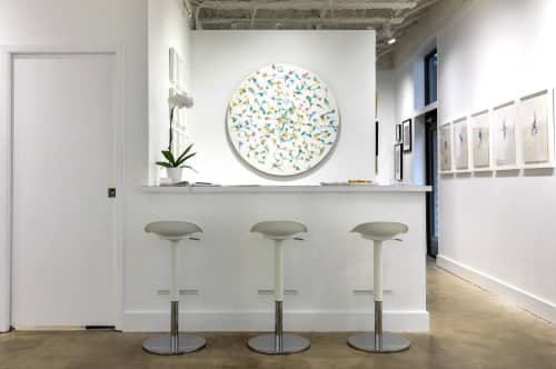 Fiber Painting | Paintings by Emma Balder