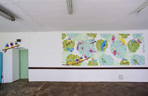 Murals by Melinda Šefčić at A prison in Pozega, Požega - Exemplary Community