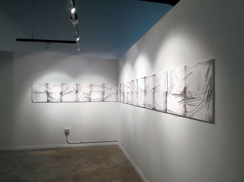 Wire Garden | Art & Wall Decor by Patricia Van Dalen | Artmedia Gallery, Wynwood, Miami, FL in Miami