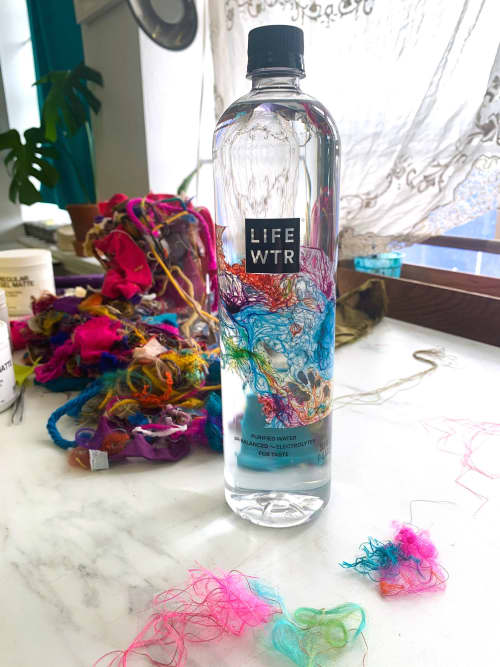 Bottle Design for LIFEWTR   Art & Wall Decor by Emma Balder