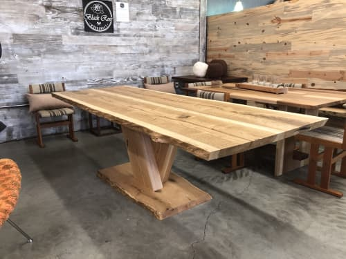 Tables by Black Rose WoodCraft seen at Portland, Portland - White Oak Dining Table