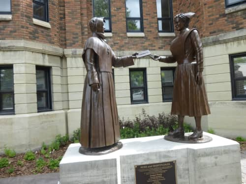 Nuns & Nightingales   Public Sculptures by Don Begg / Studio West Bronze Foundry & Art Gallery