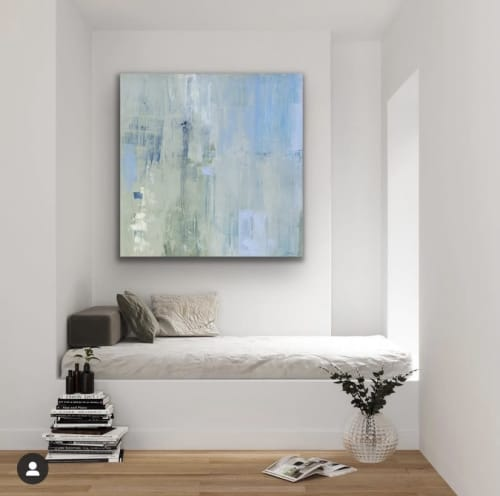 Paintings by Donna Bruni seen at Private Residence, Minneapolis - Donna Bruni Cox