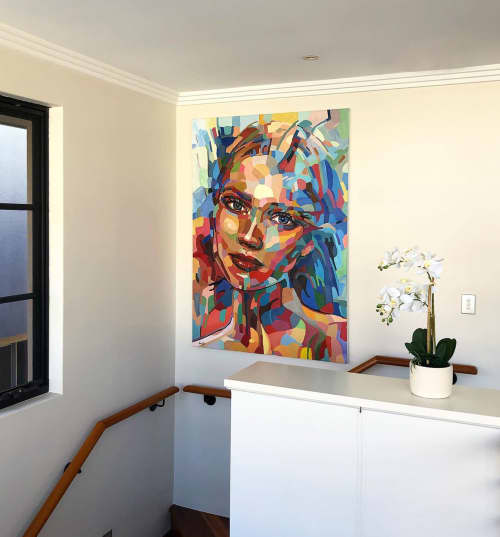 Paintings by Noemi Safir Artist - One day at a time