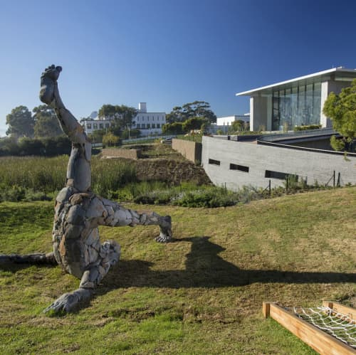 Holderstebolder   Sculptures by Angus Taylor   Norval Foundation in Cape Town