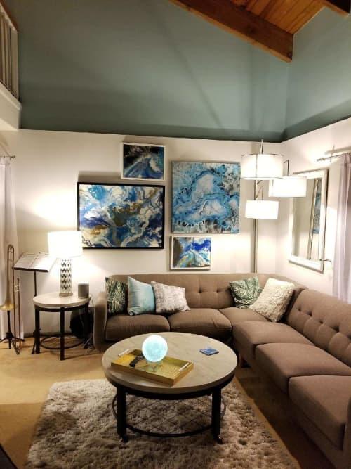 Paintings by Molly Silverman Art seen at Delray Beach, FL, Delray Beach - Fluid Imagination