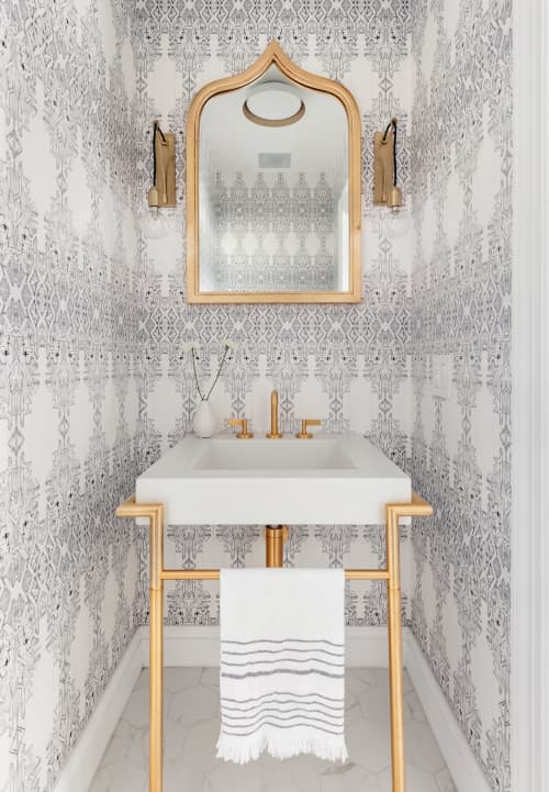 Wallpaper by Allison Lind Interiors - Allison Lind