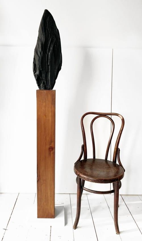 Untitled 52, Cedar Sculpture   Sculptures by Neshka Krusche