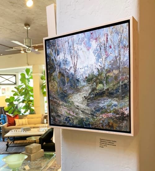 A Moment of Stillness | Paintings by Stephanie Thwaites | Ruby LivingDesign in Mill Valley