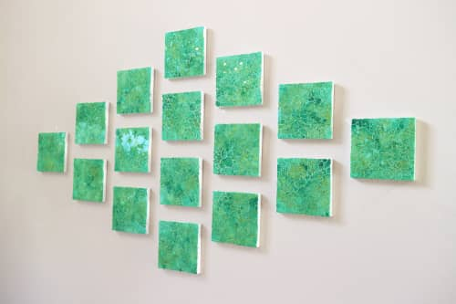 Wall Hangings by Chieko Shimizu Fujioka seen at Creator's Studio, Santa Clara - Forest Green Square (Made-to-order)