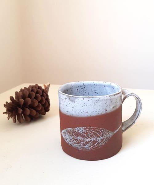 Small Leaf  Mug | Cups by ShellyClayspot