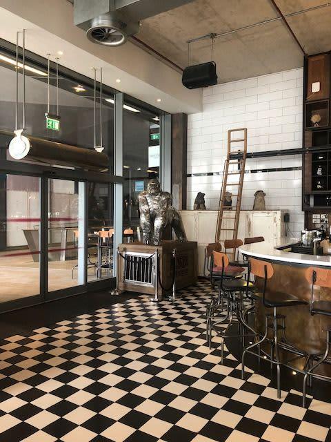 Gorilla on a Box | Interior Design by Michael Turner Studios | Heddon Street Kitchen in London