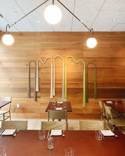 Wall Hangings by Cindy Hsu Zell at M.Georgina, Los Angeles - Rope Installation