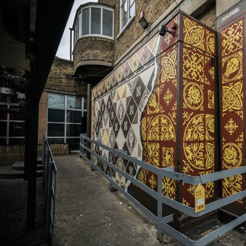 Remember Your Roots | Street Murals by Add Fuel | The Truman Brewery in London