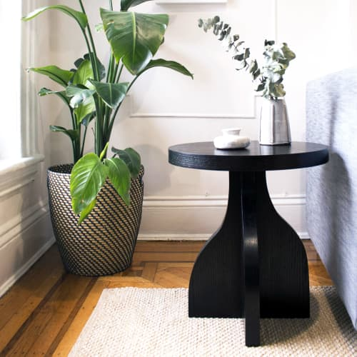 Tables by Work At Hand seen at Private Residence, Brooklyn - Vase Table