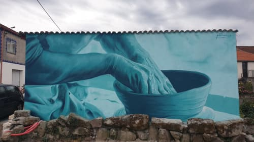 Oleiros   Murals by Mon Devane