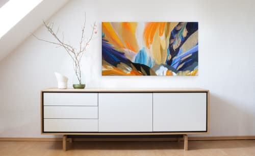 Murals by Terry Kruse seen at Private Residence, Calgary, Calgary - Edge of Paradise