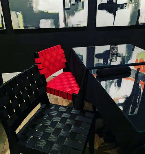 Chairs by Peter Danko Designs seen at The Handsome Cab, York - ASHTON line