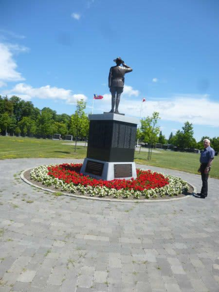 RCMP Memorial   Public Sculptures by Don Begg / Studio West Bronze Foundry & Art Gallery   Royal Canadian Mounted Police National Headquarters in Ottawa