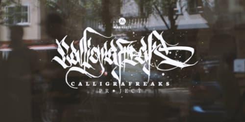CALLIGRAFREAKS PROJECT | Murals by YAT