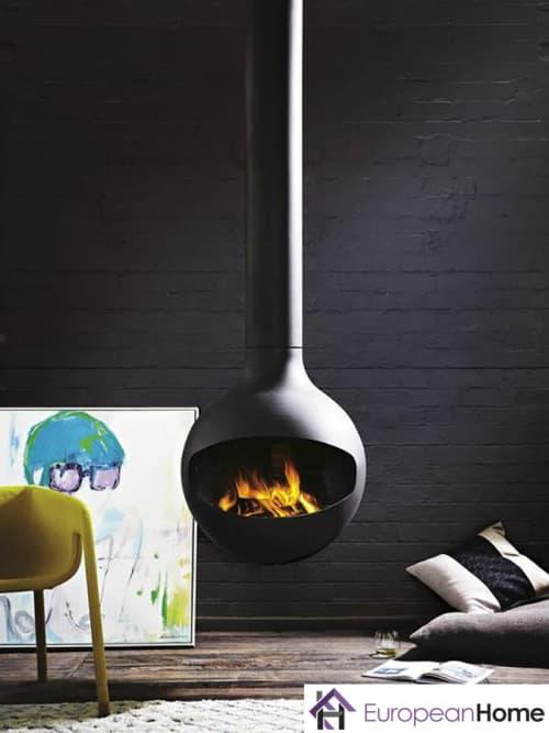 Interior Design by European Home seen at 30 Log Bridge Rd, Middleton - Bathyscafocus Indoor Wood Fireplace