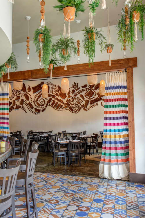 Zocalo Cocina Mexicana & Cantina   Interior Design by Valerie Legras Atelier   Zócalo in Metairie