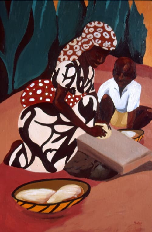 The Bread Makers | Paintings by Keith Doles
