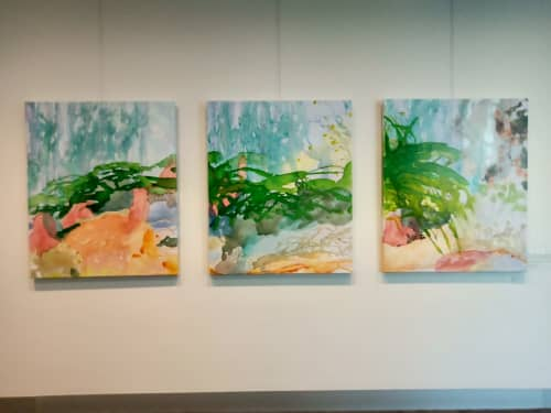 Paintings by Wendy Grace seen at City of Knox - Out Of The Woods