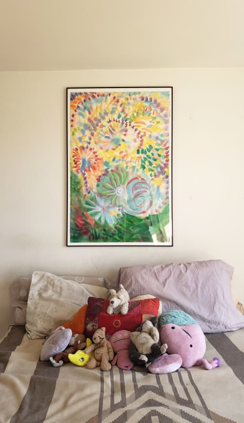 Paintings by Janet Morgan seen at Private Residence, Brooklyn - The Ride