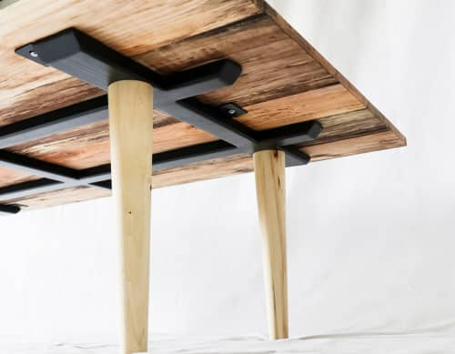 Tables by Hazel Oak Farms seen at Private Residence - Spalted Maple Coffee Table