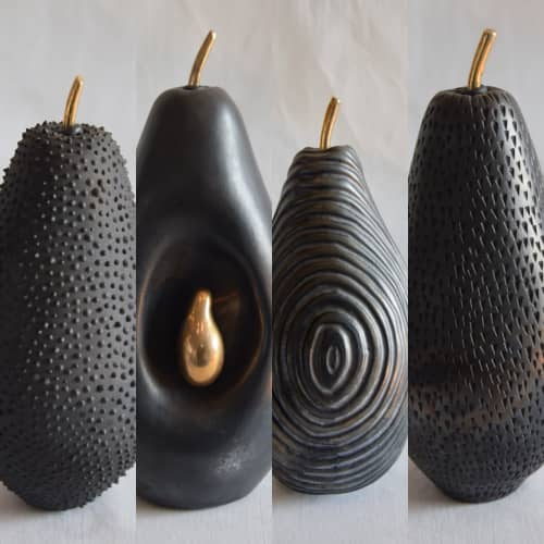 Fruit... the womb of creation | Sculptures by Shweta Mansingka Ceramics