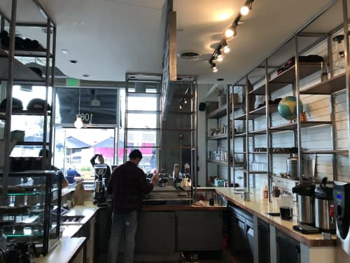 Coffee Commissary | Interior Design by Meisch Made