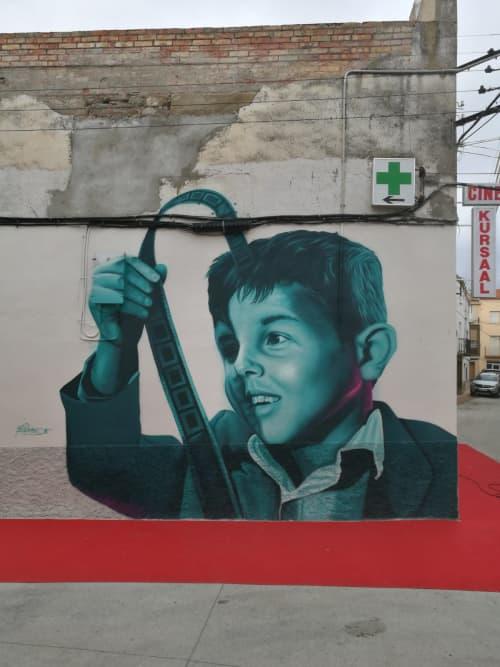 Cinema Paradiseo   Murals by Mon Devane