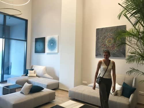 Paintings | Paintings by Eleni Pratsi | Radisson Blu Hotel, Larnaca in Larnaca
