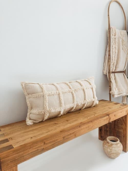 Pillows by Coastal Boho Studio seen at Creator's Studio, Frisco - Marina Lumbar Pillow Cover