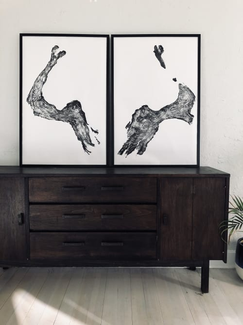 Illinois Tree Roots, Set of Two | Art & Wall Decor by Erik Linton