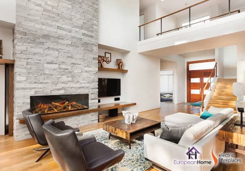 Appliances by European Home seen at 30 Log Bridge Rd, Middleton - E60 Electric Fireplace